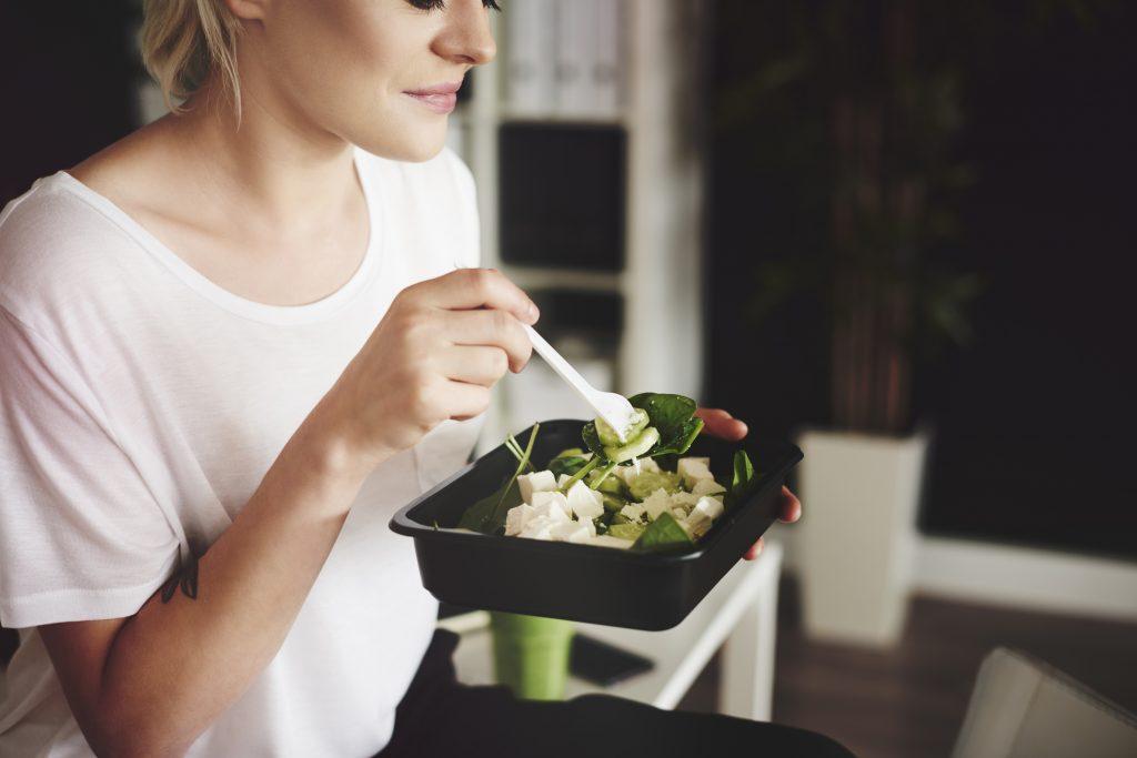 comendo legumes